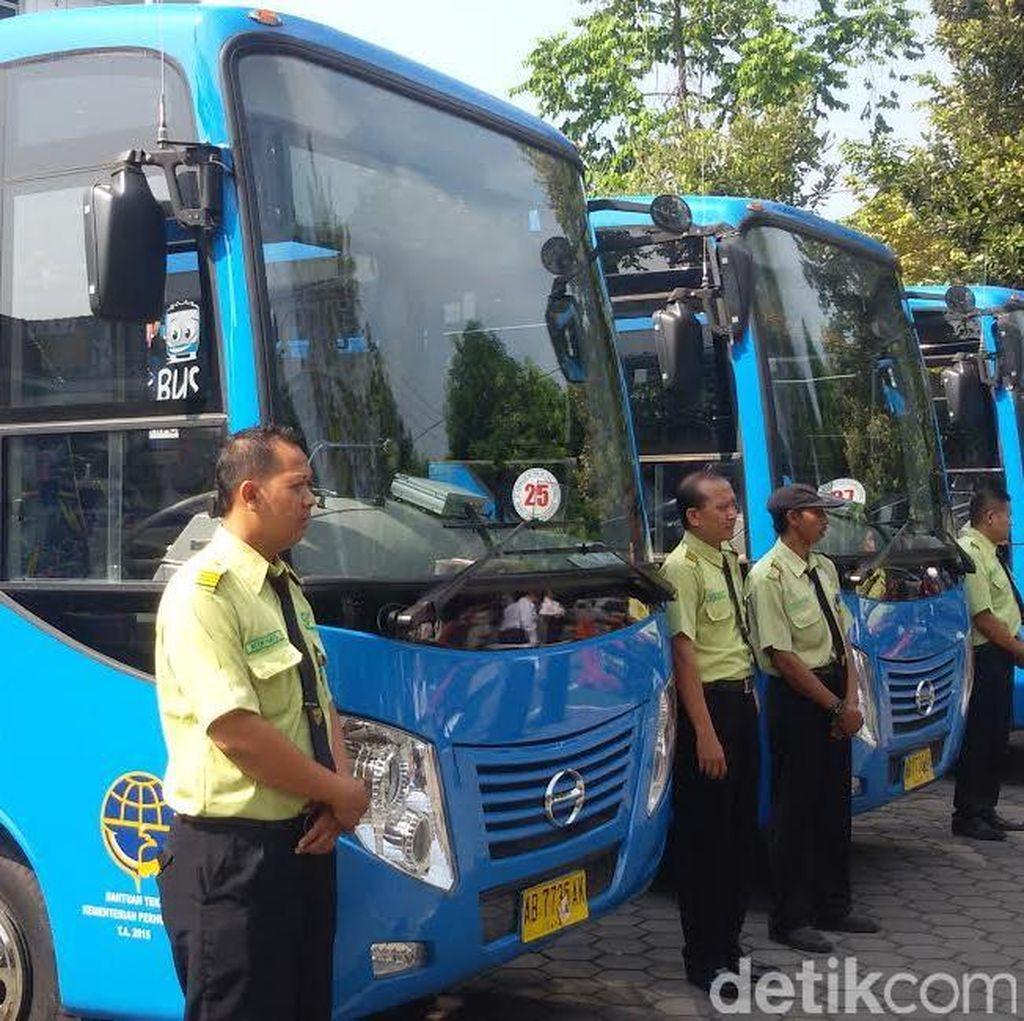 25 Bus Baru Trans Jogja Siap Mengaspal, Bus Lama Akan Dikanibal