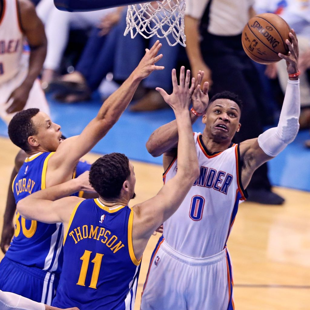 Kalahkan Warriors di Gim 4, Thunder di Ambang Final NBA