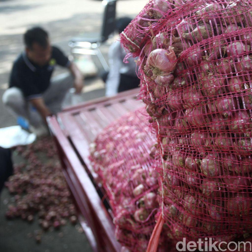 Mentan Minta Impor 2.500 Ton Bawang Merah Tak Jadi Polemik