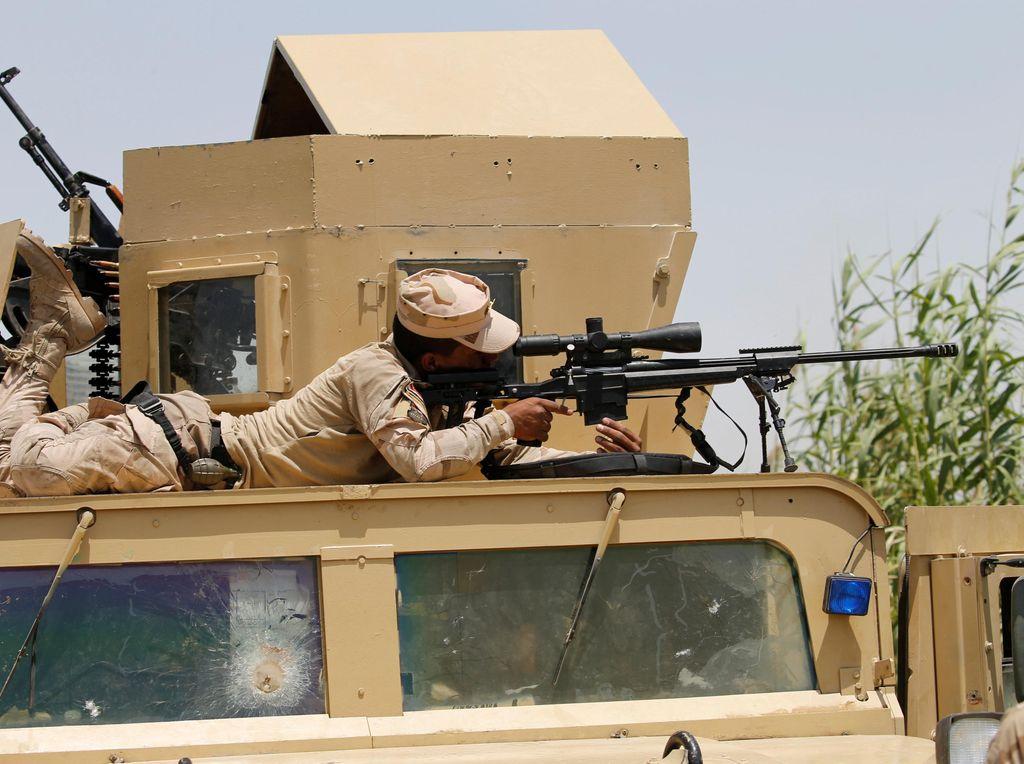 Pertempuran Fallujah Antara Pasukan Irak dan ISIS