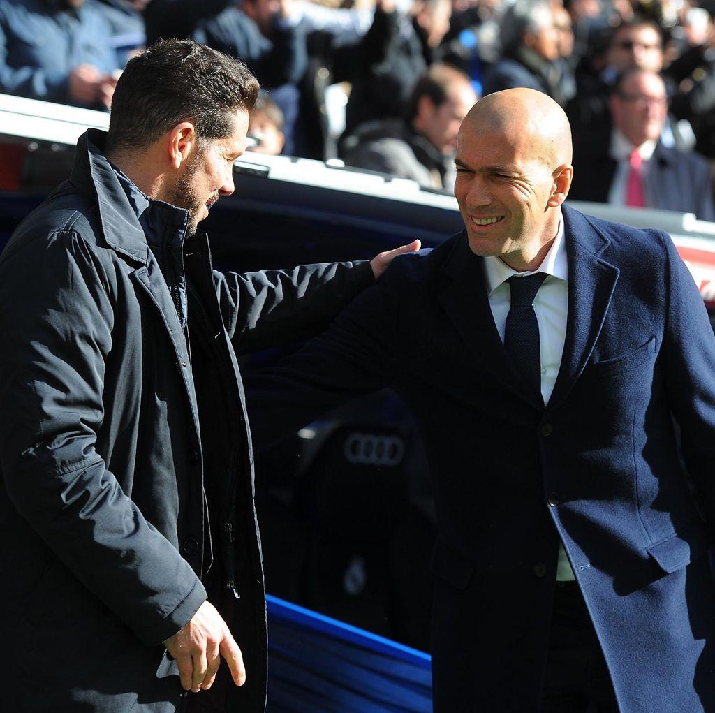 Simeone-Zidane Beda Jauh Soal Pengalaman