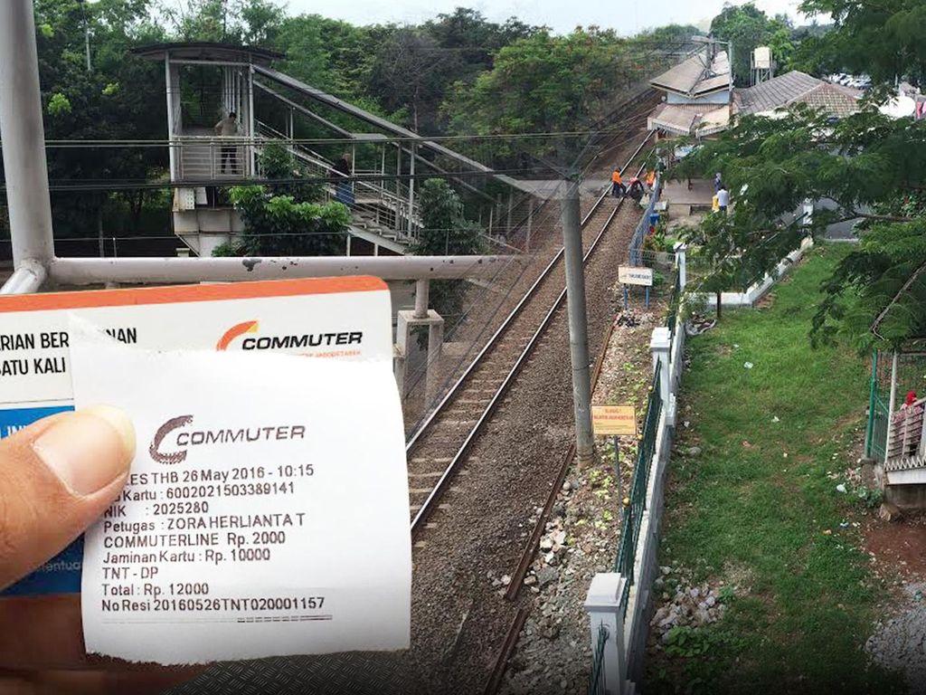 Beda dengan di Tanjung Barat, JPO Gratis Tak Bayar Rp 2 Ribu Ada di Stasiun UI