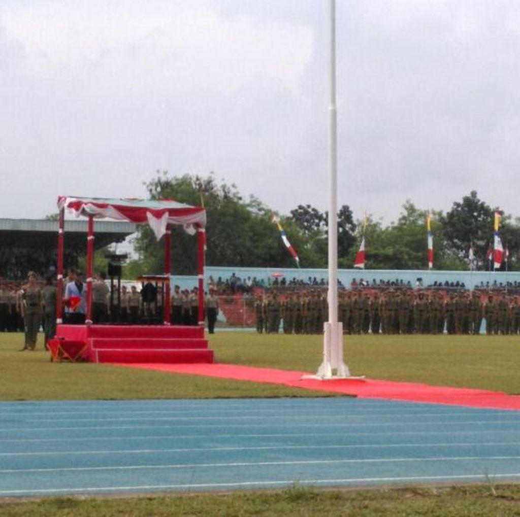 Kapolri Tutup KKN Ribuan Taruna Akpol, Akmil, dan IPDN di Bangka Belitung
