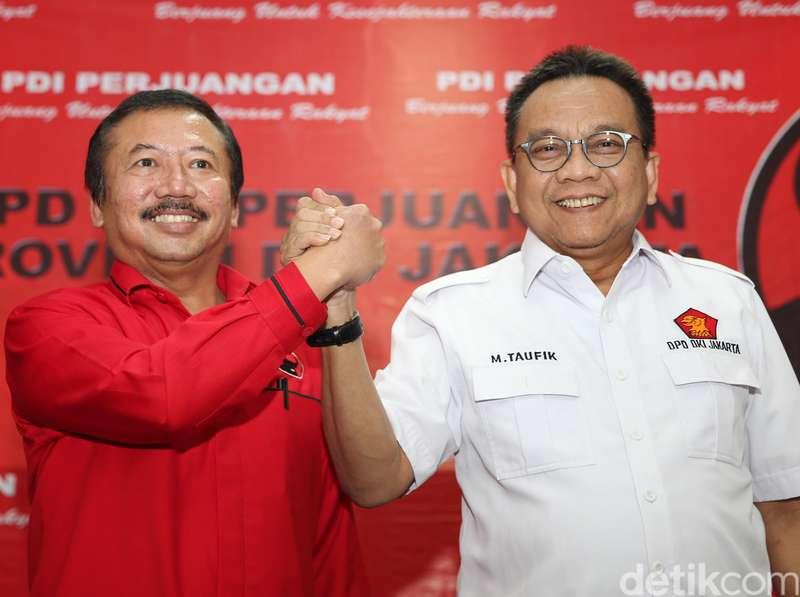 PDIP-Gerindra Sepakat Jajaki Koalisi, Siapa Cagub DKI yang Diusung?