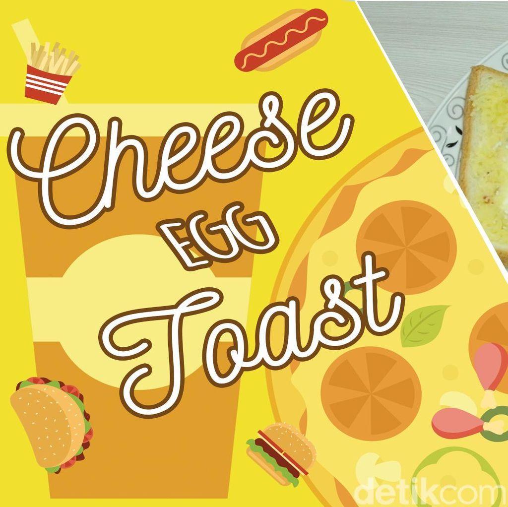 Masak Mudah - Cheese Egg Toast