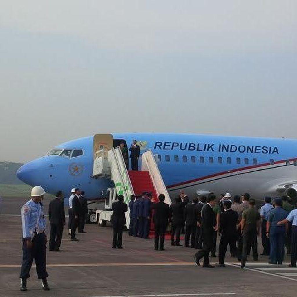 Presiden Jokowi Bertolak ke Jepang