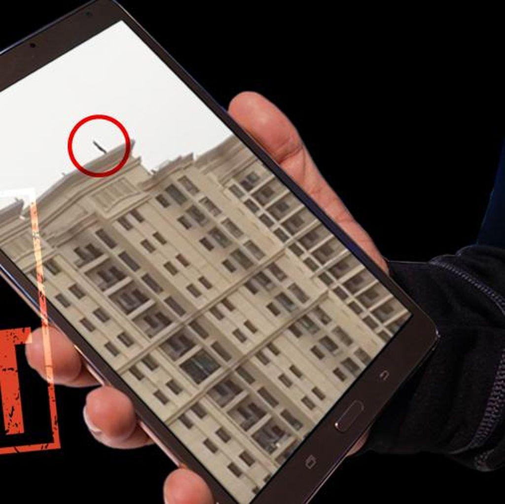 Video Pria Lompat dari Atap Apartemen Bukan diJakartaUtara