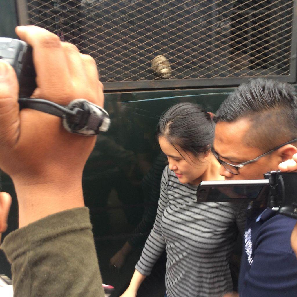 Tiba di Pondok Bambu, Jessica Langsung Dimasukkan ke Rutan