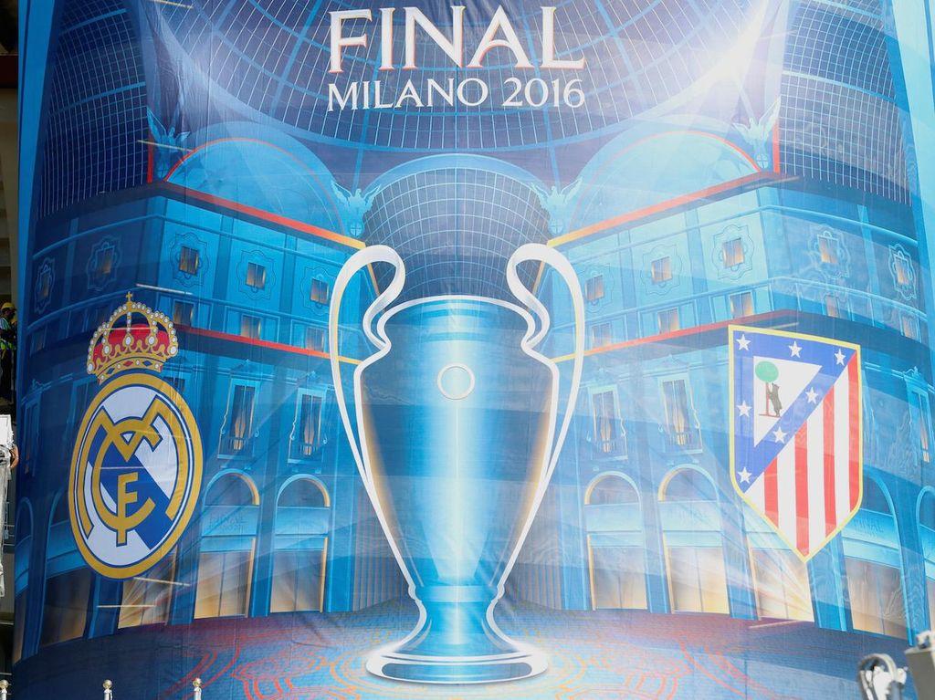 Data dan Fakta Madrid vs Atletico Dinihari Nanti