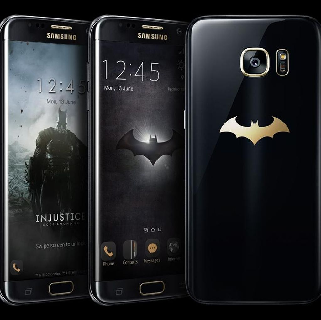 Galaxy S7 Edge Punya Versi Batman
