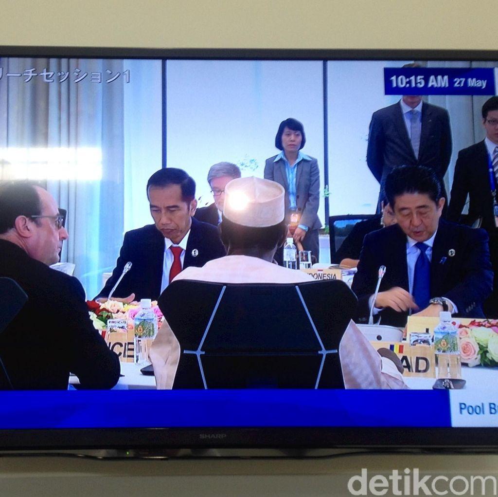 Di Depan Pemimpin G7, Jokowi Minta Konflik Laut Cina Selatan Segera Diselesaikan
