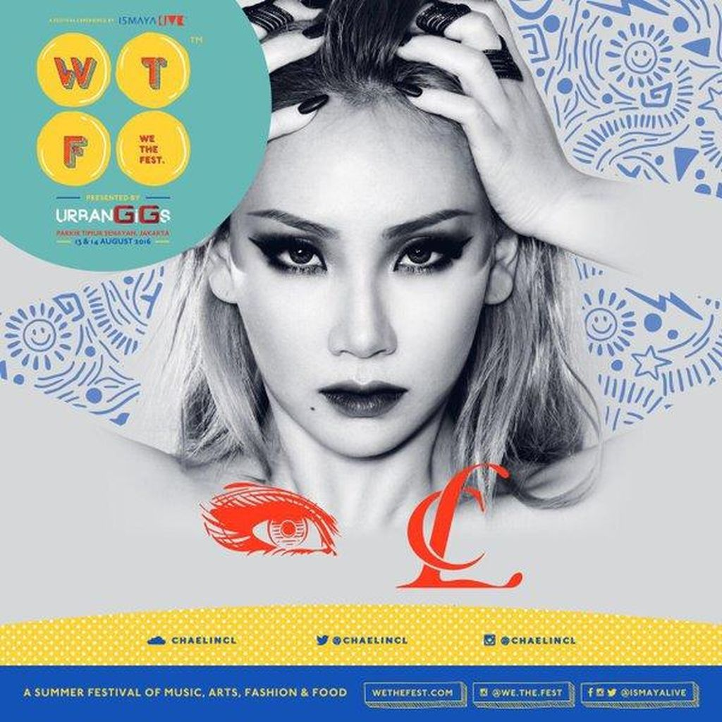 CL 2NE1 Juga Tampil di We The Fest 2016