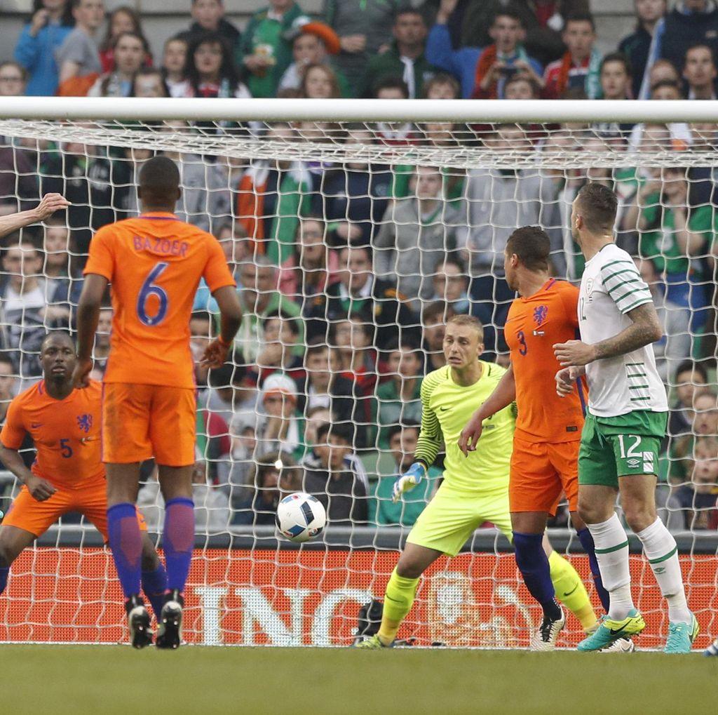 Irlandia Berimbang dengan Belanda