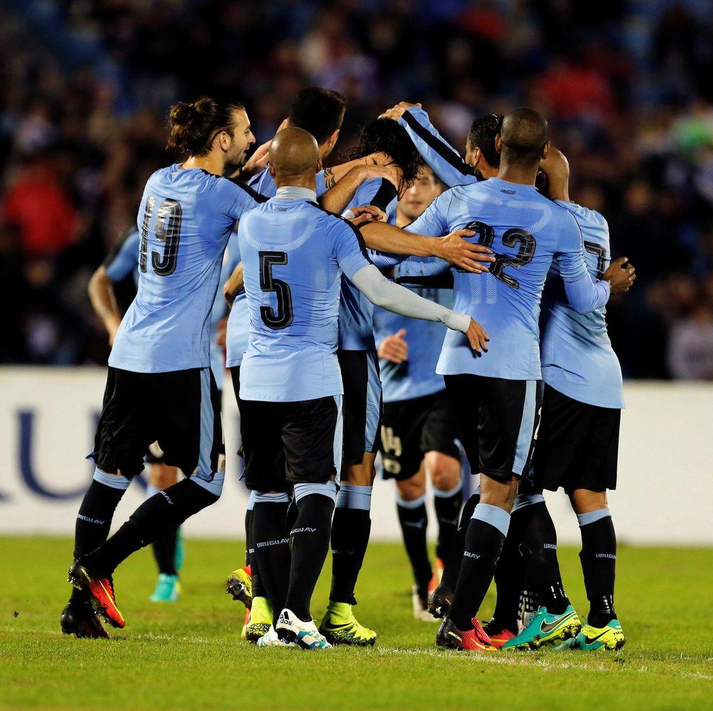 Cavani Dua Gol, Uruguay Tundukkan Trinidad & Tobago