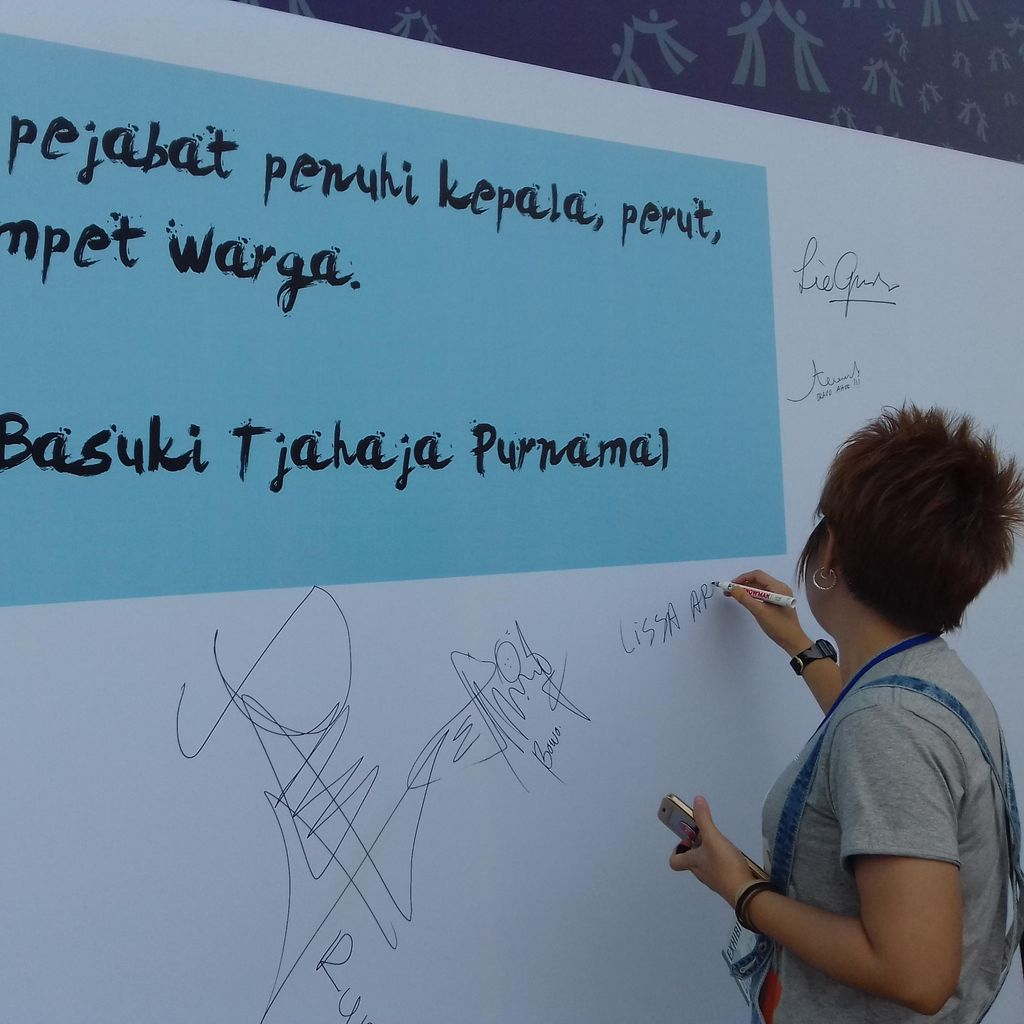 Kumpulkan KTP Lebih Masif, Teman Ahok Gelar Teman Ahok Fair di Jaksel