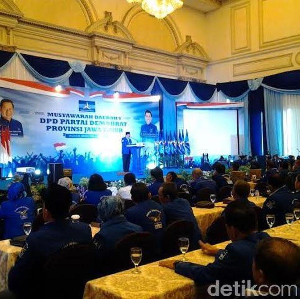 Soekarwo Kembali Pimpin Demokrat Jatim Periode 2016-2021