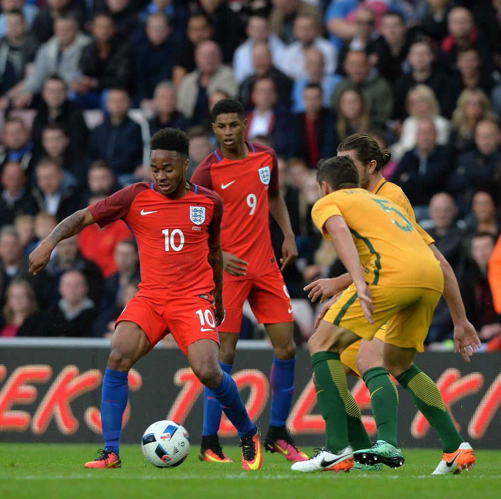 Rashford-Rooney Menangkan Inggris atas Australia