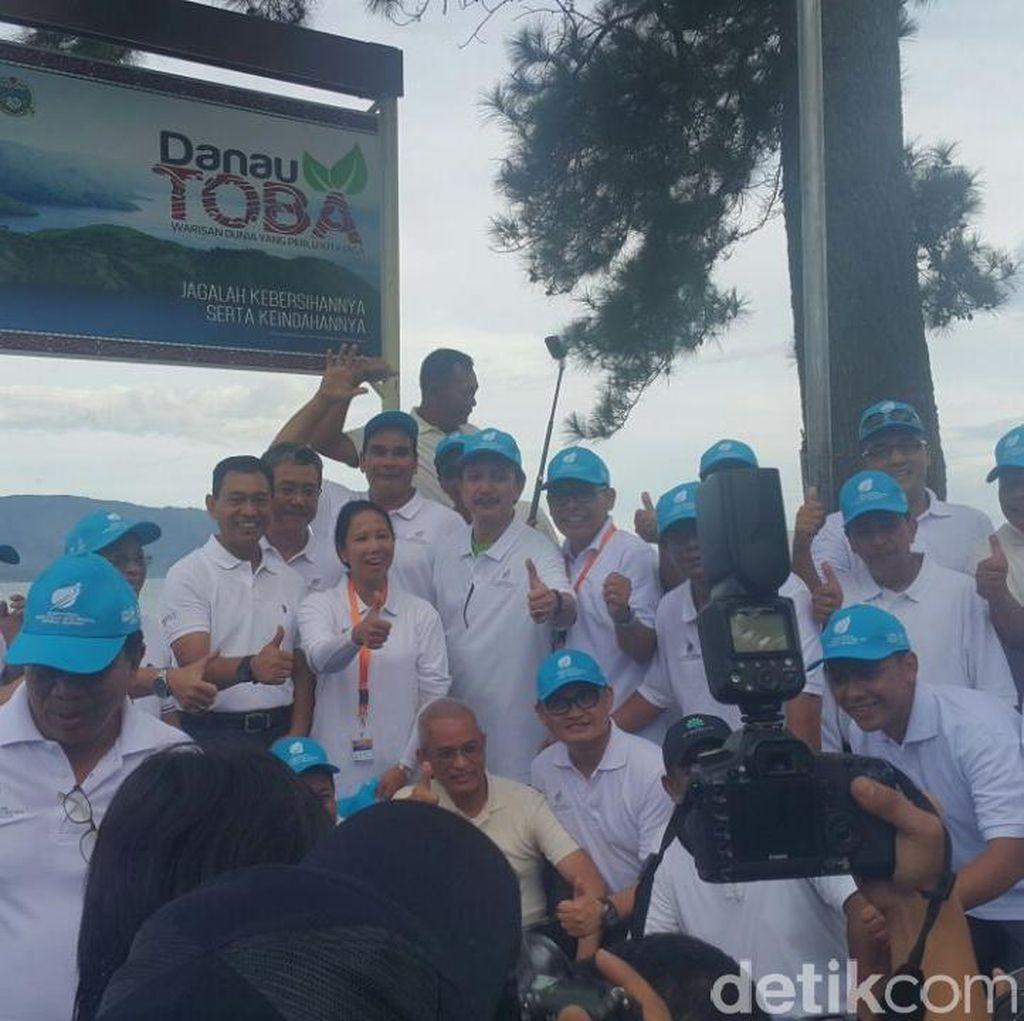 Rini Kumpulkan Para Bos BUMN di Danau Toba