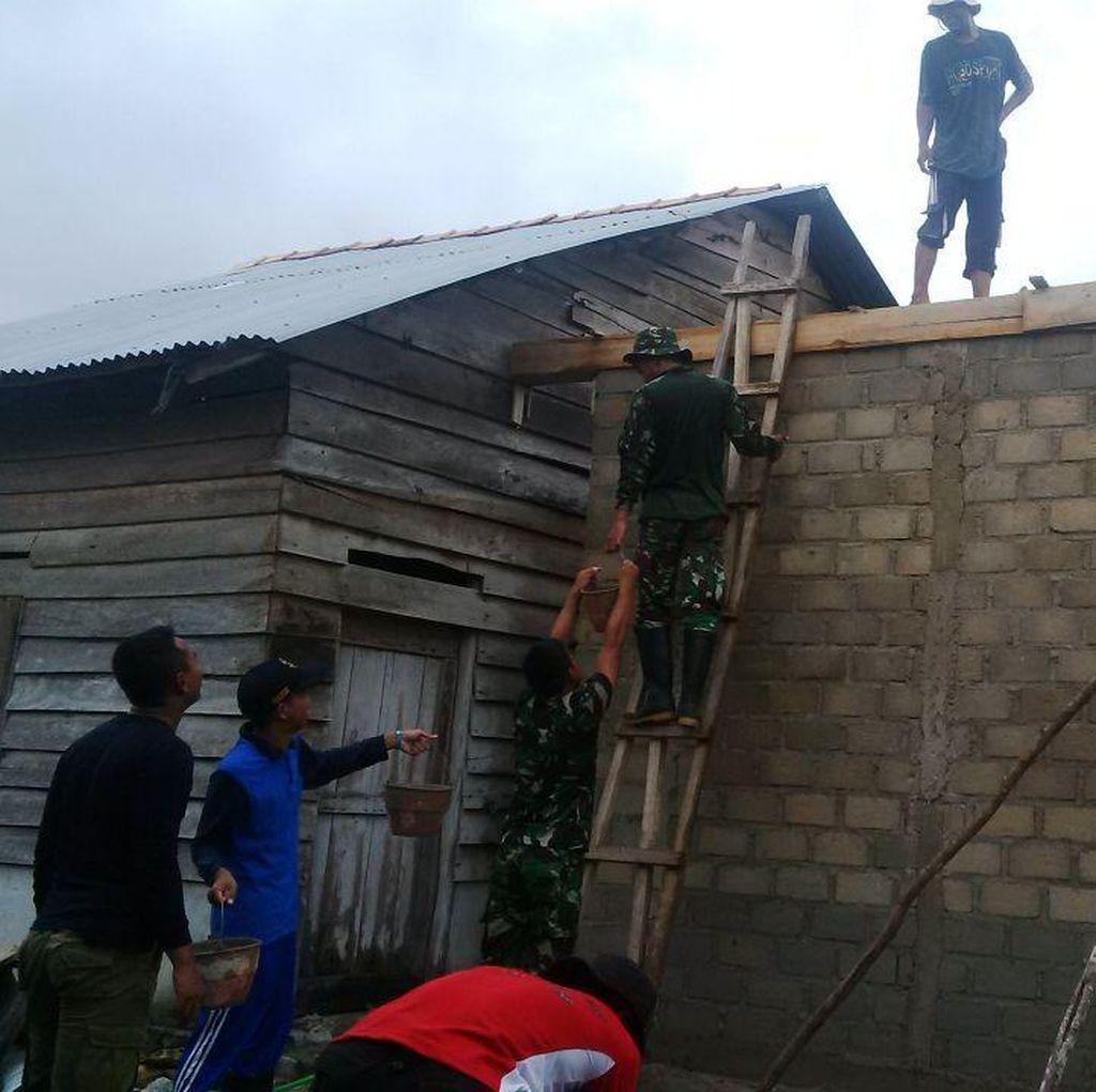 Berkat KKN Akpol, Akmil dan IPDN, Warga Pangkalpinang Ini Punya Rumah Baru