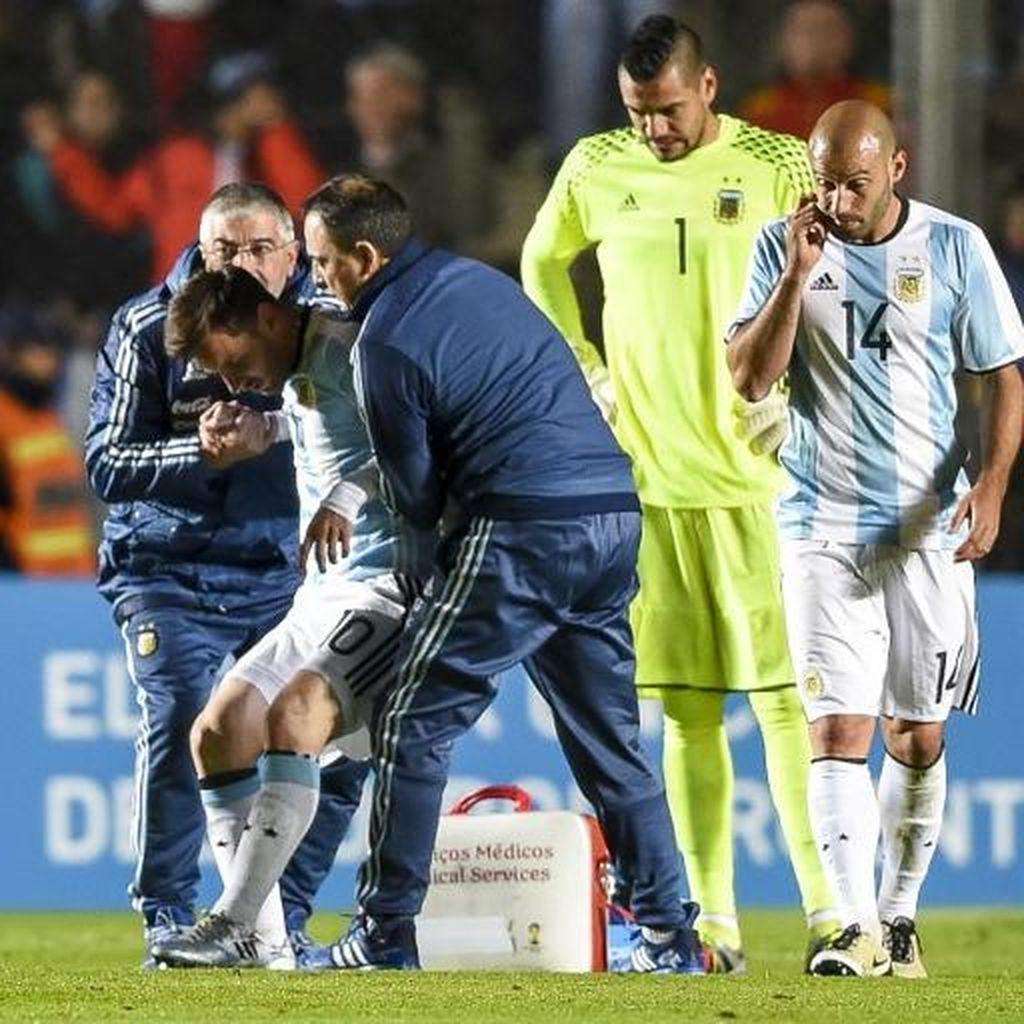 Mascherano dan Higuain Berharap Messi Tak Cedera Serius