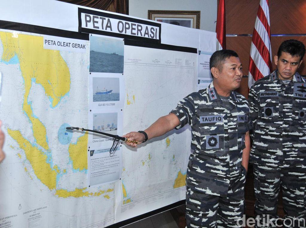 Kapal Cina yang Ditangkap KRI Oswald Angkut Ikan yang Identik di Laut Natuna