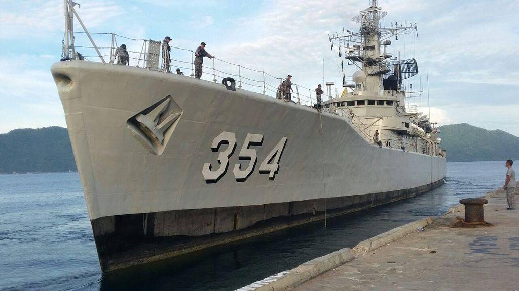 Berlangsung Dramatis, KRI Oswald Siahaan Tangkap Kapal Nelayan Cina di Natuna