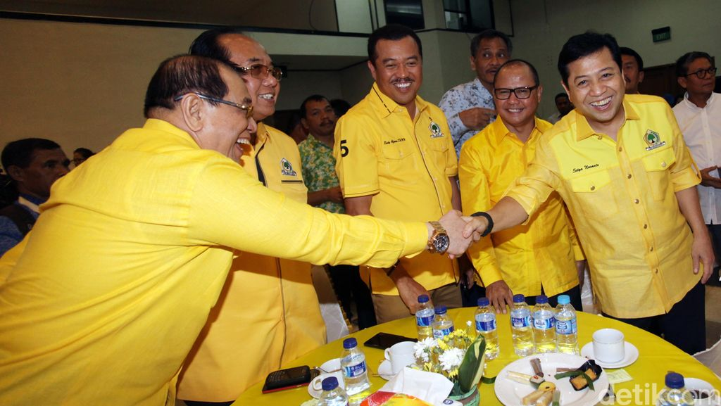 Eks Napi Jadi Pengurus Golkar, Novanto: Right Man In The Right Place