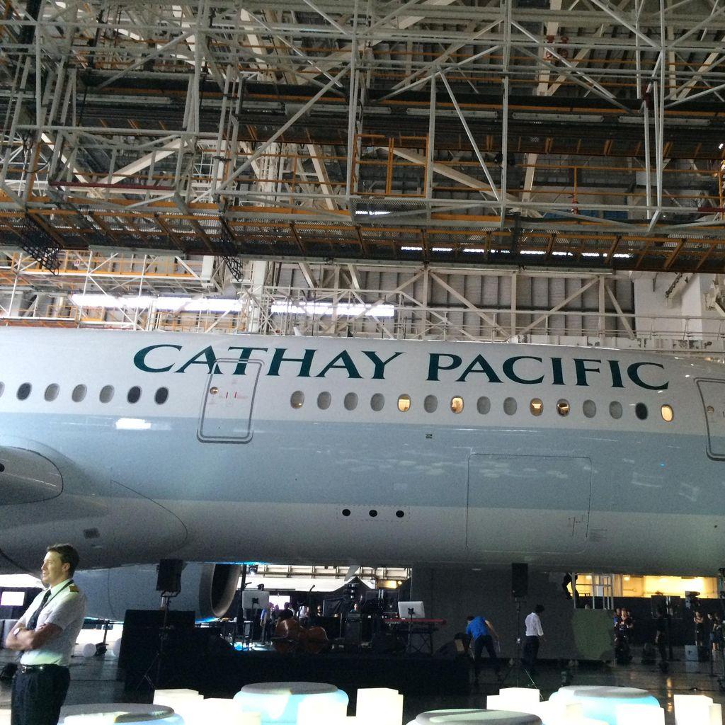 Ini Dia Penampakan Pesawat Baru Cathay Pacific A350 XWB