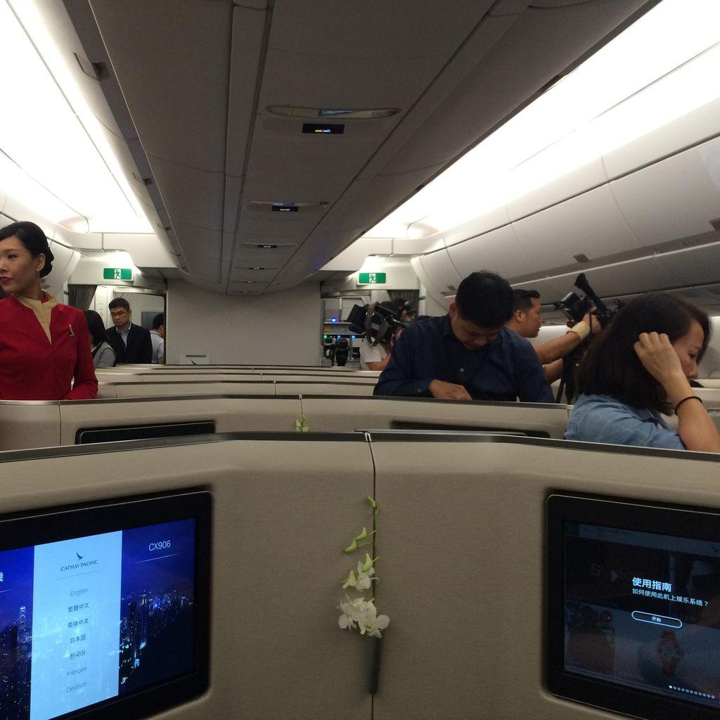 Cathay Pacific Tawarkan Pengalaman Terbang Baru Lewat A350 XWB