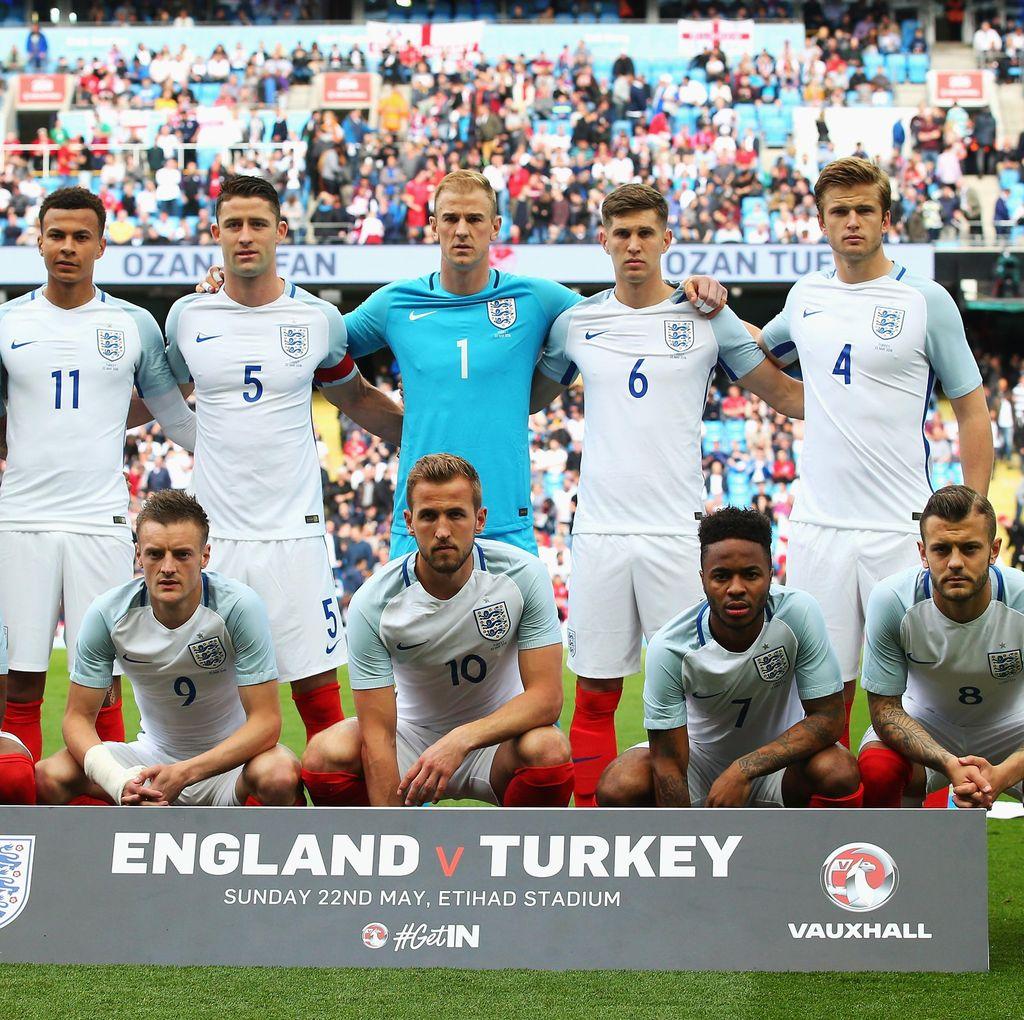 Inggris Umumkan Skuat untuk Piala Eropa 2016