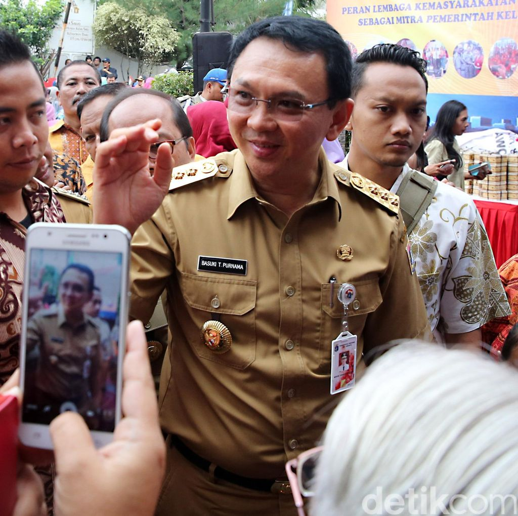 Gerindra-PKS Ingin Cagub Petahana Mundur, Ahok: Takut Amat Sama Gua!