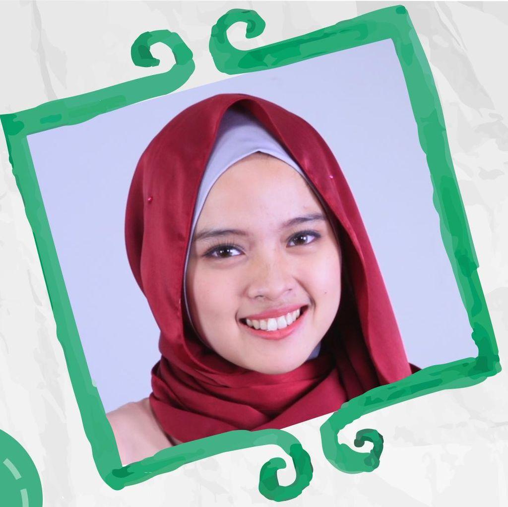 Kreasi dengan Silk Hijab