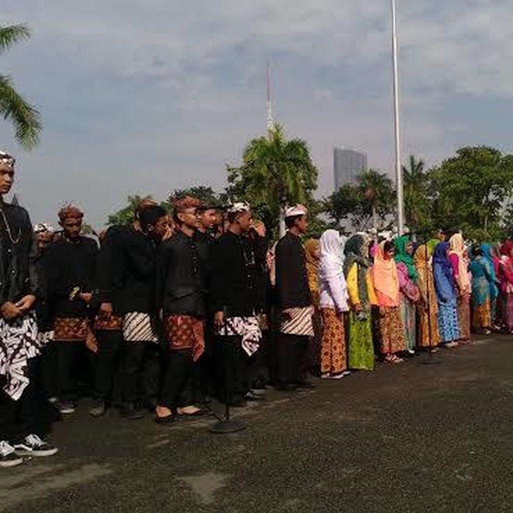 Hanya 8 Anggota Dewan Hadiri Upacara HUT ke-723 Kota Surabaya