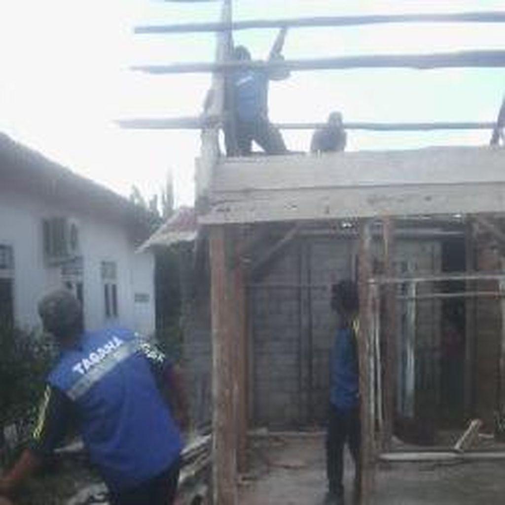 Ratusan Rumah Warga Tak Mampu di Pangkalpinang Dibedah Jadi Layak Huni