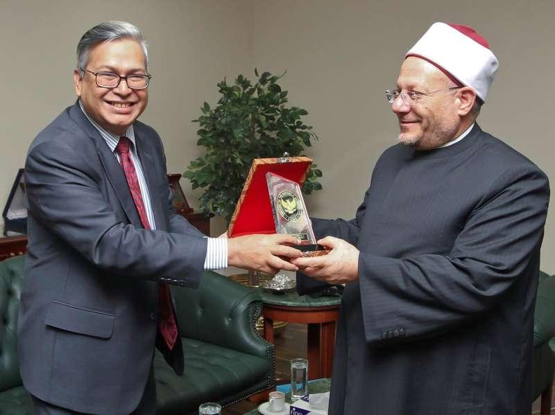 Dubes RI dan Ulama Mesir Bahas Ide Sekretariat Fatwa Internasional