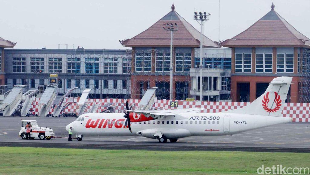 Wings Air Menyenggol Towing Car di Bandara Halim, Pesawat Lecet dan Digrounded