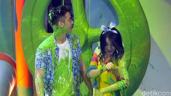 Hiiii... Melody JKT48 hingga Raffi Ahmad Berlendir Hijau