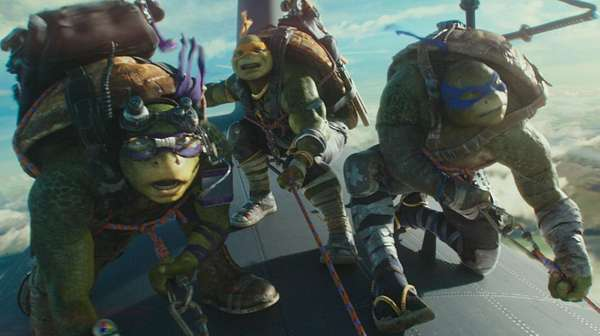 Aksi Para Kura-Kura Ninja di TMNT: Out of the Shadows