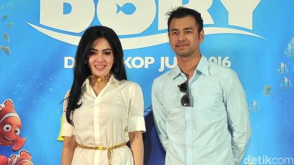 Syahrini dan Raffi Ahmad Isi Suara di Finding Dory Versi Indonesia