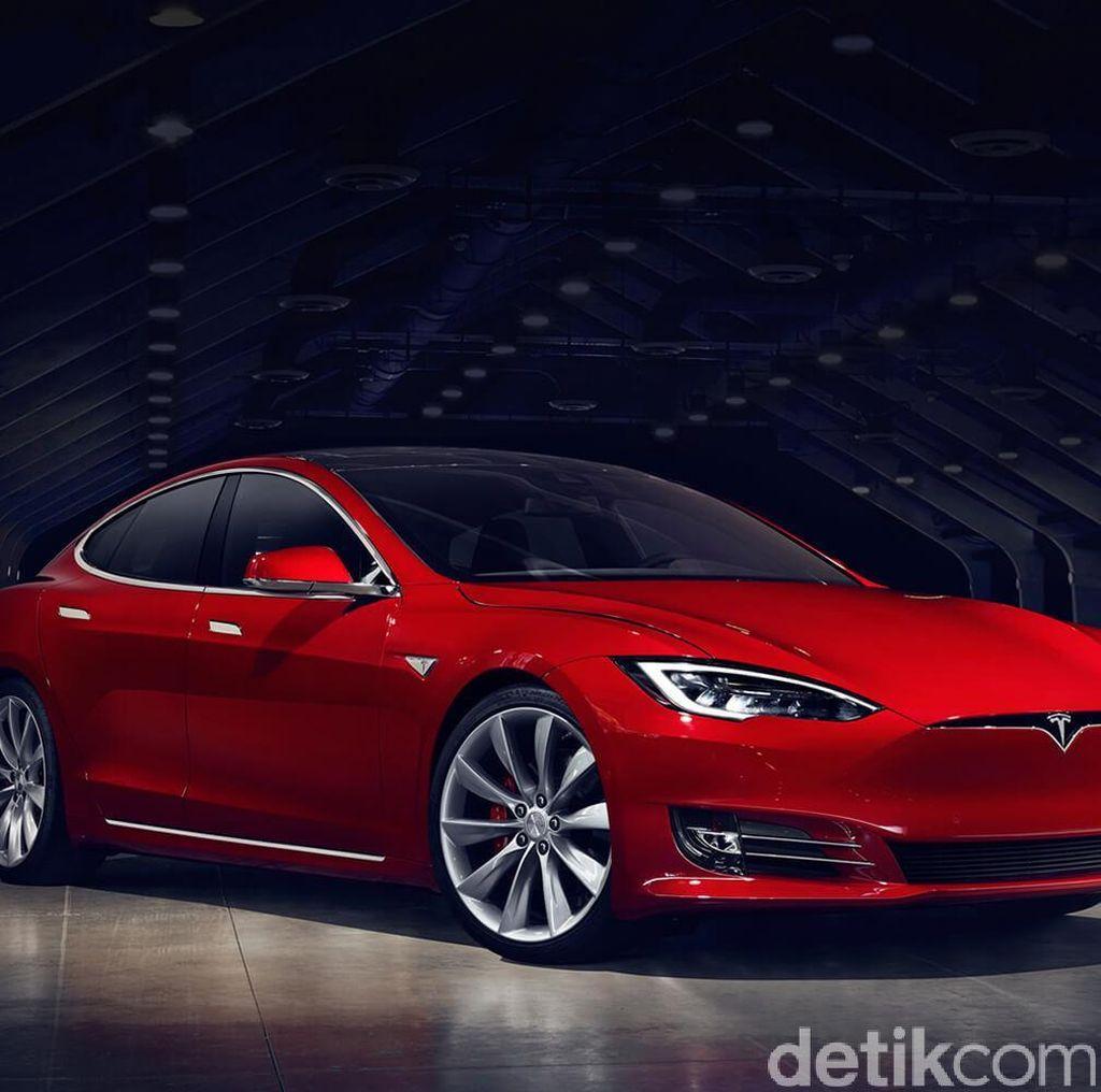 Mobil Tesla Cegah Anak dan Hewan Peliharaan Kepanasan Jika Tertinggal