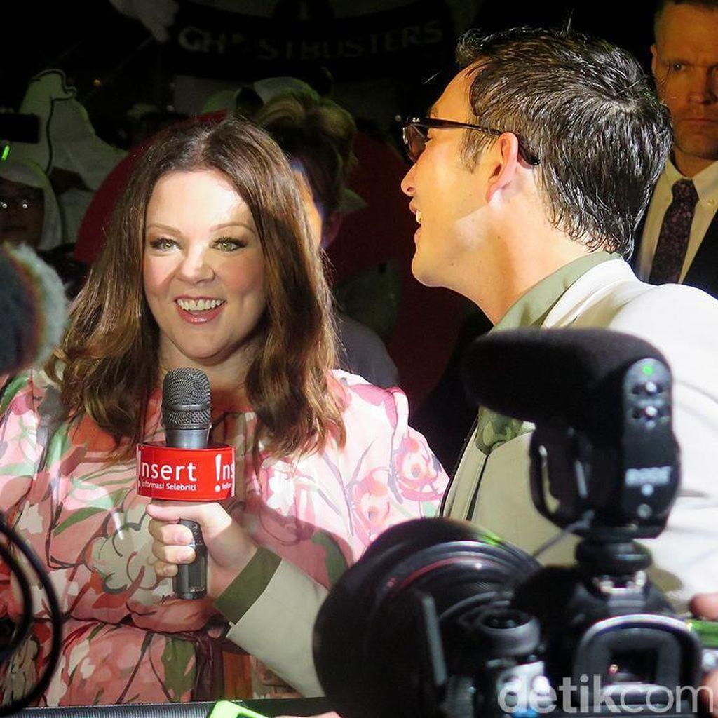 Ini Adegan Favorit Melissa McCarthy di Ghostbusters