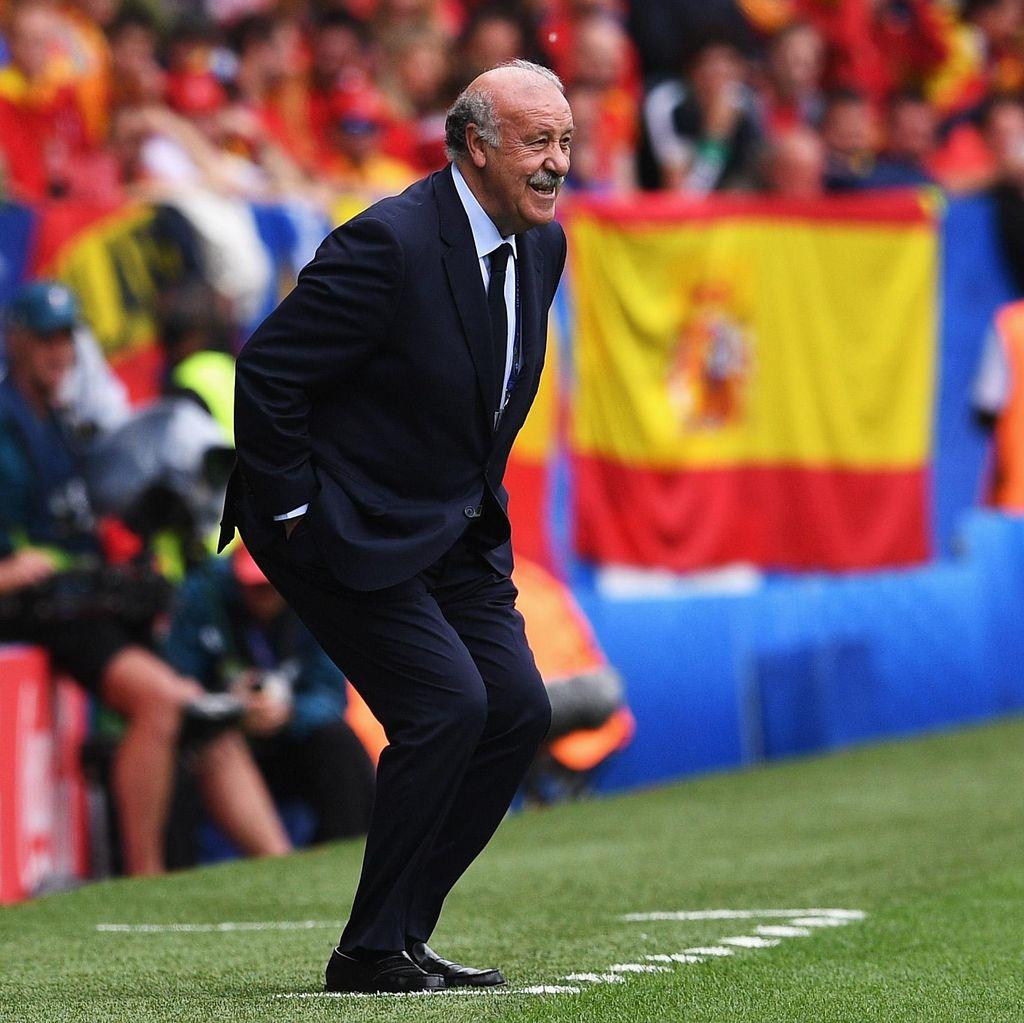 Del Bosque Tinggalkan Kursi Pelatih Timnas Spanyol