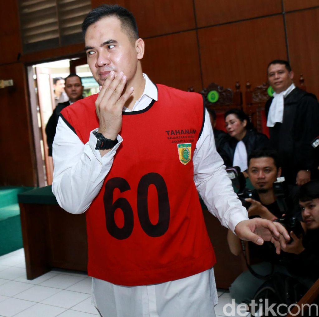 Terungkap! Saipul Jamil Danai Seluruh Operasi Penyuapan Majelis Hakim