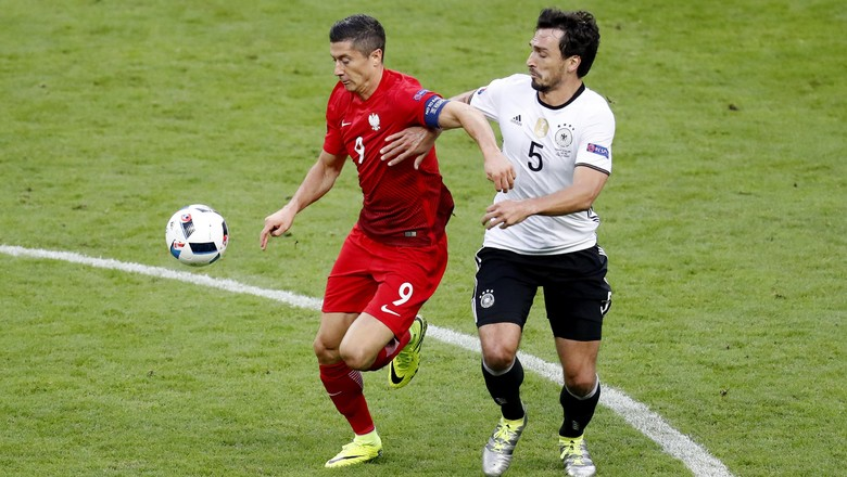 Jerman Melawan Polandia Berakhir Imbang