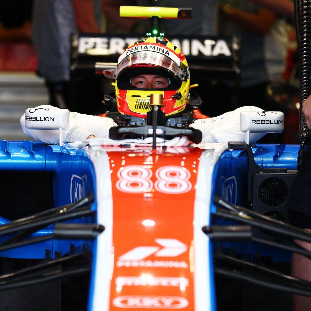 Rio Terancam Tak Lanjut di F1, Menpora Sampaikan Permintaan Maaf