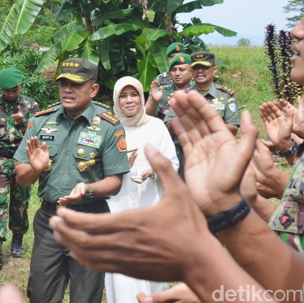 Jenderal Gatot: TNI Tak Boleh Meminta-minta THR ke Pihak Lain, itu Ngerampok!