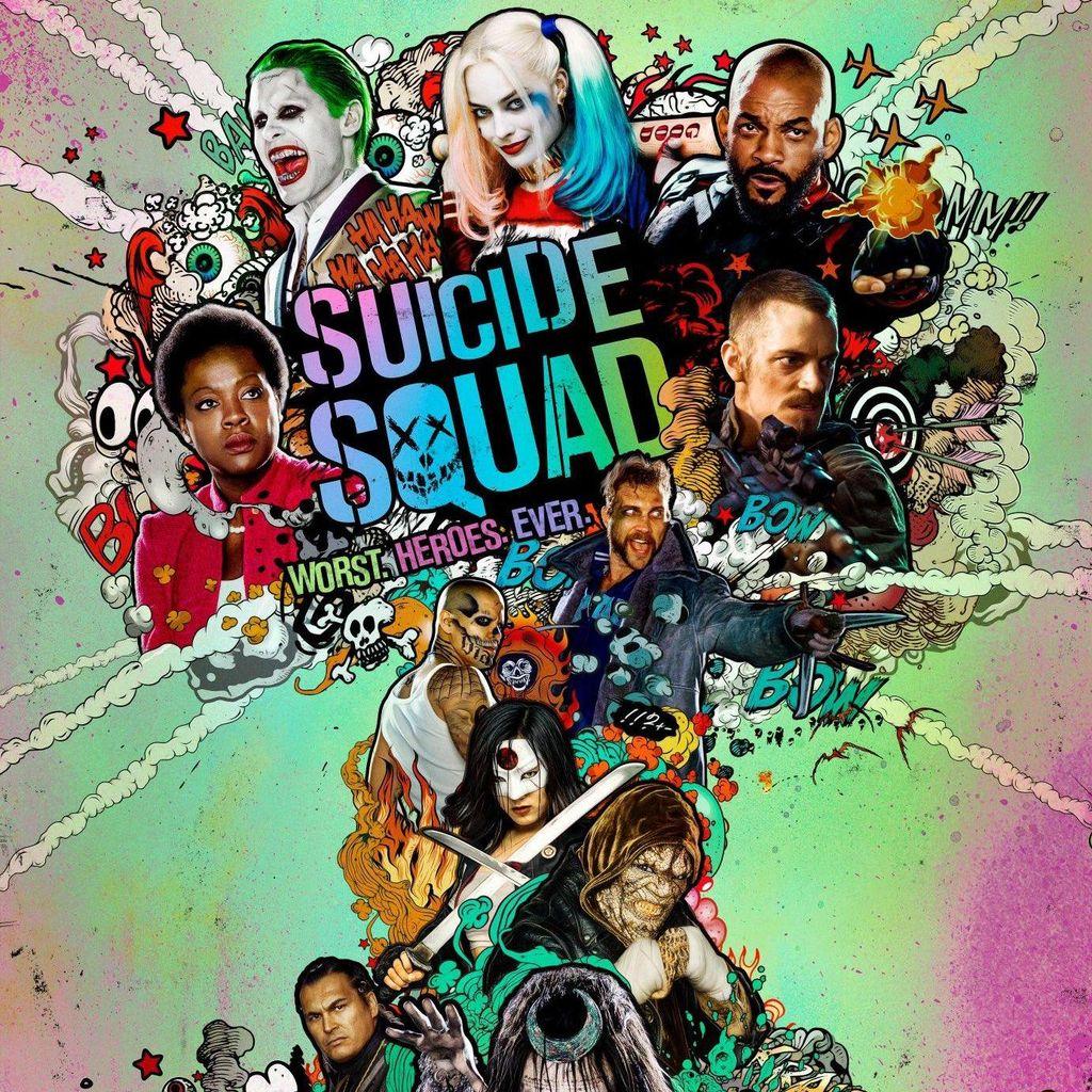 David Ayer Pamerkan Poster Terbaru Suicide Squad