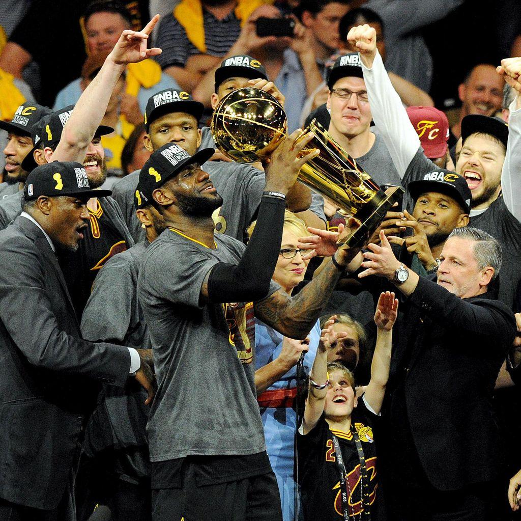 Cavaliers Juara Usai Kalahkan Warriors di Game 7