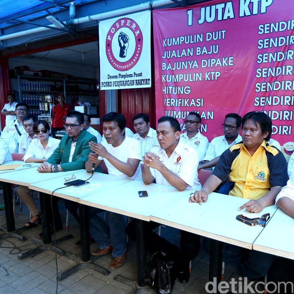 Pospera Tuntut Teman Ahok Minta Maaf: Kami Bukan Ormas Partai