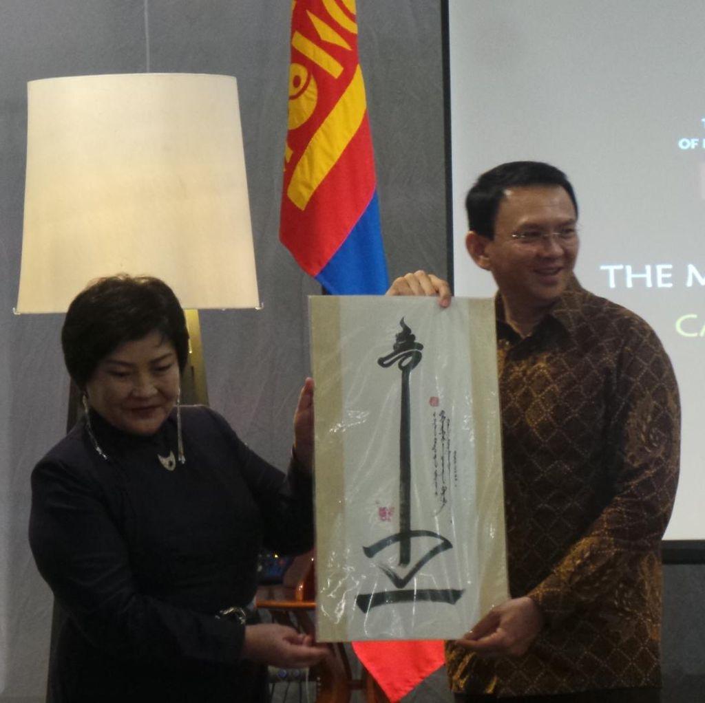 Buka Festival Mongolia di Kota Tua, Ahok: Saya Suka Budaya Mongol
